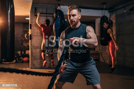 istock He trains like a superhero 925857078