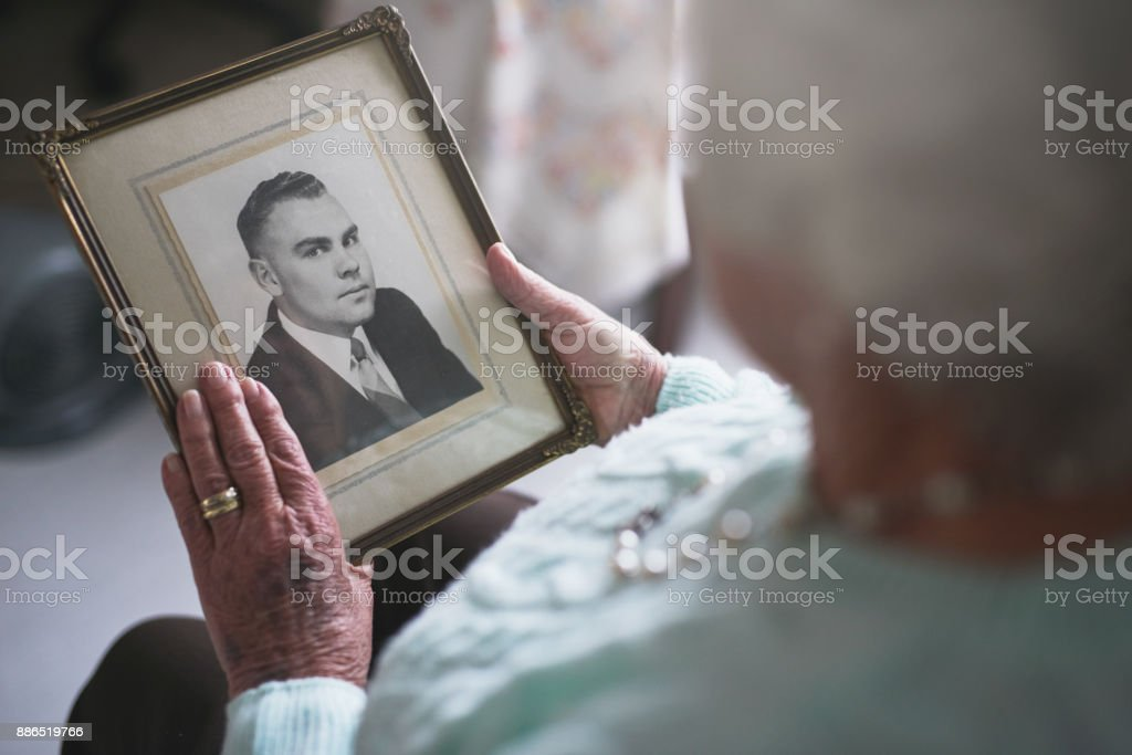 He was such a kind and caring man... stock photo