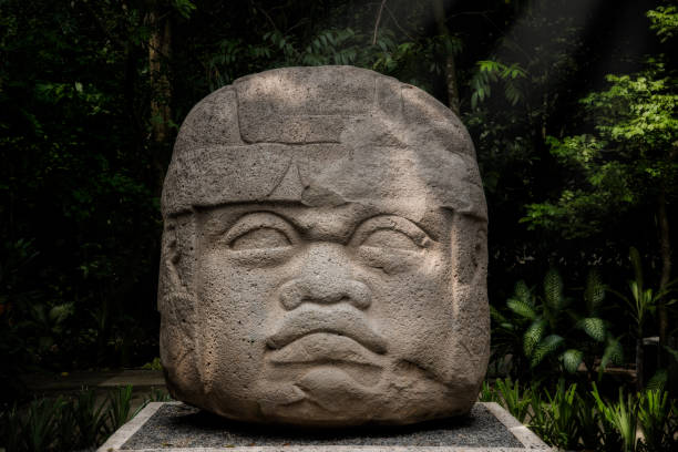 Royalty free the olmecs pictures images and stock photos istock head carved in stone by the olmecs stock photo publicscrutiny Image collections