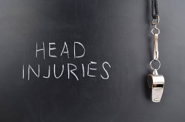 Head Injuries stock photo
