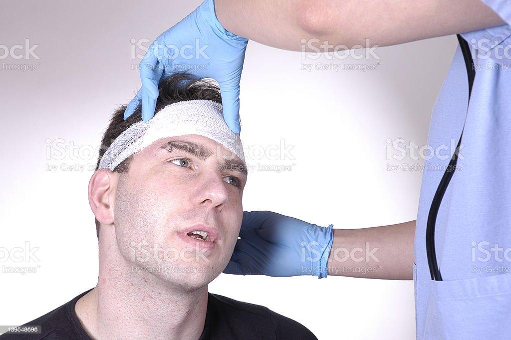 head injury 4 royalty-free stock photo