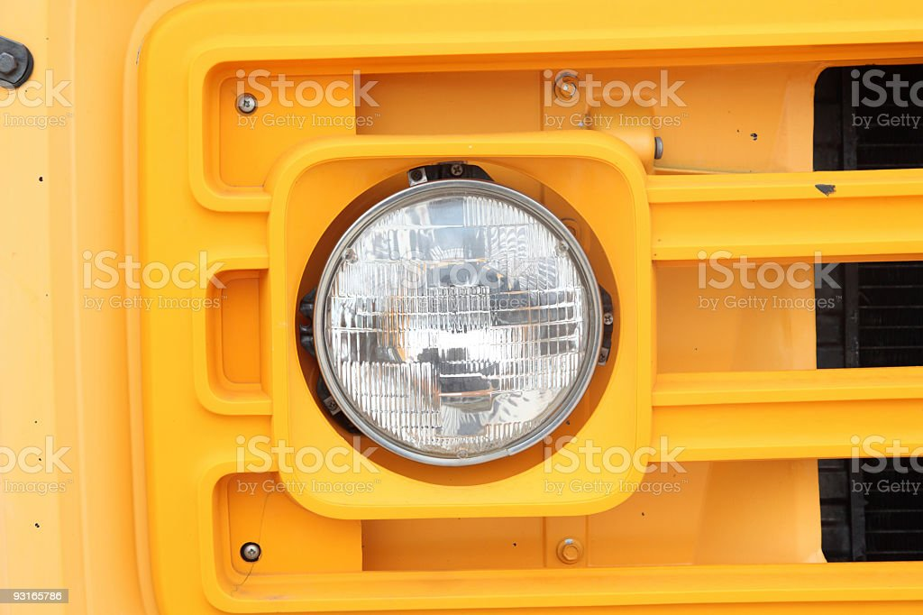 head light stock photo