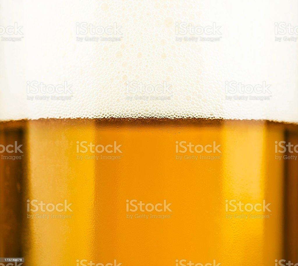 Head of Beer stock photo