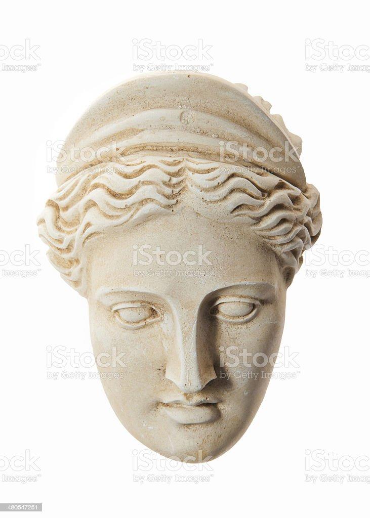Head of Hera sculpture royalty-free stock photo