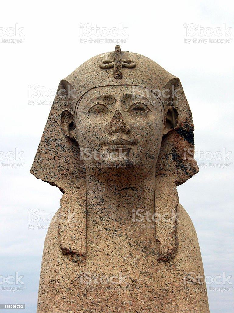 Head of Sphinx, Egypt stock photo