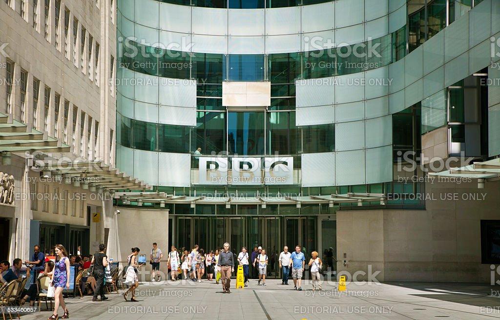 BBC head office, London