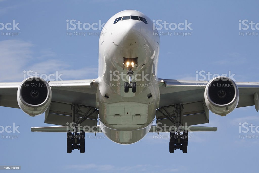 head on airplane - Royalty-free Air Vehicle Stock Photo