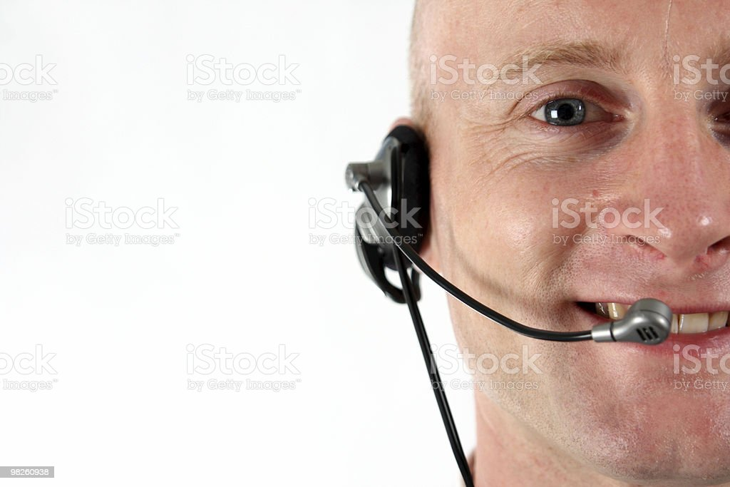 Head set royalty-free stock photo