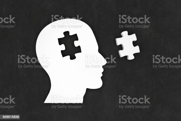 Head silhouette with jigsaw puzzle pieces picture id939915838?b=1&k=6&m=939915838&s=612x612&h=hxd1 ccy8vriwo wydgog6jj9ioyvtjokfriu tyuso=