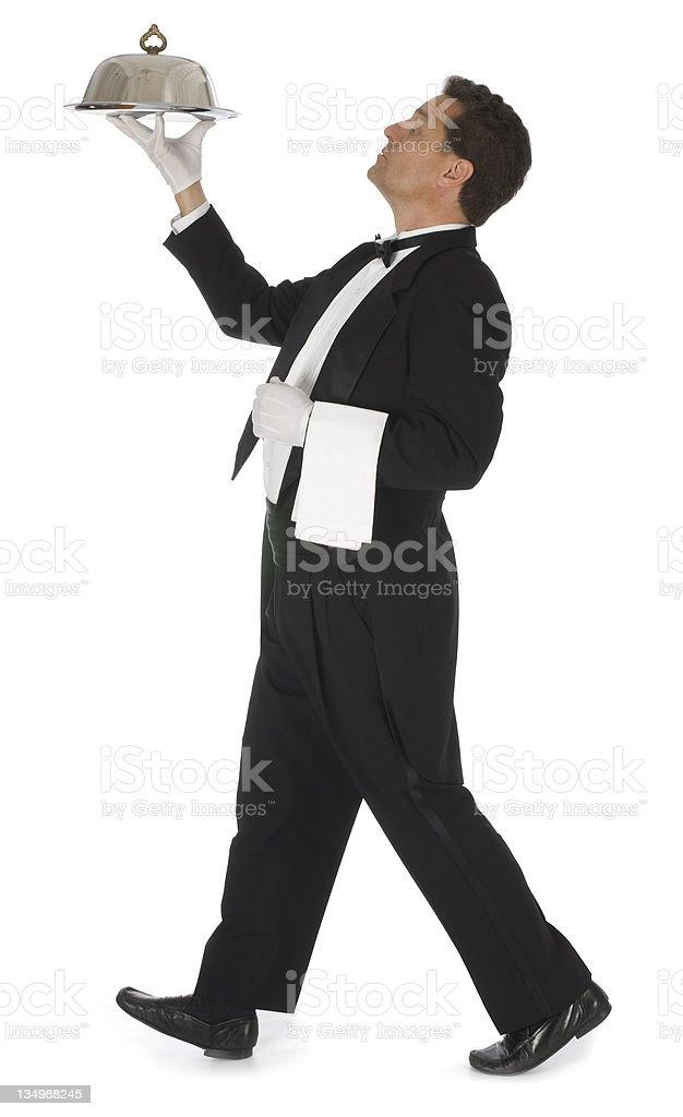 Head Waiter royalty-free stock photo