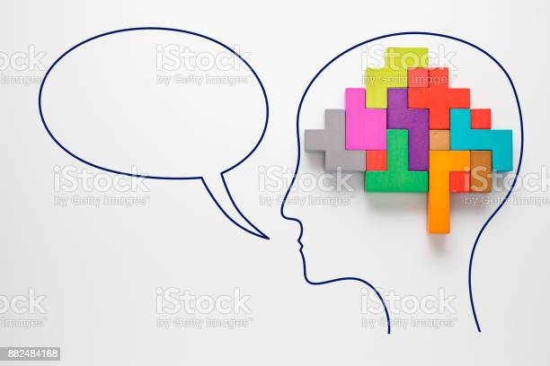 Head with colourful shapes of abstract brain with speech bubble picture id882484168?b=1&k=6&m=882484168&s=612x612&h=uhdl yahbotutogvc6thtqkfzse fbftd4qehg9o6lw=