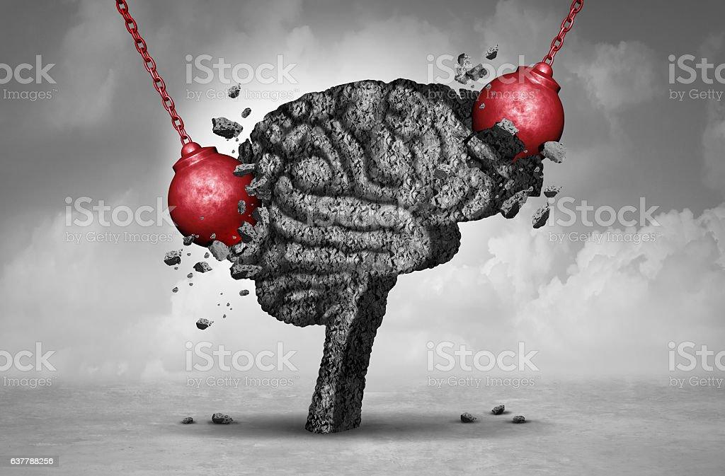 Headache Pain stock photo