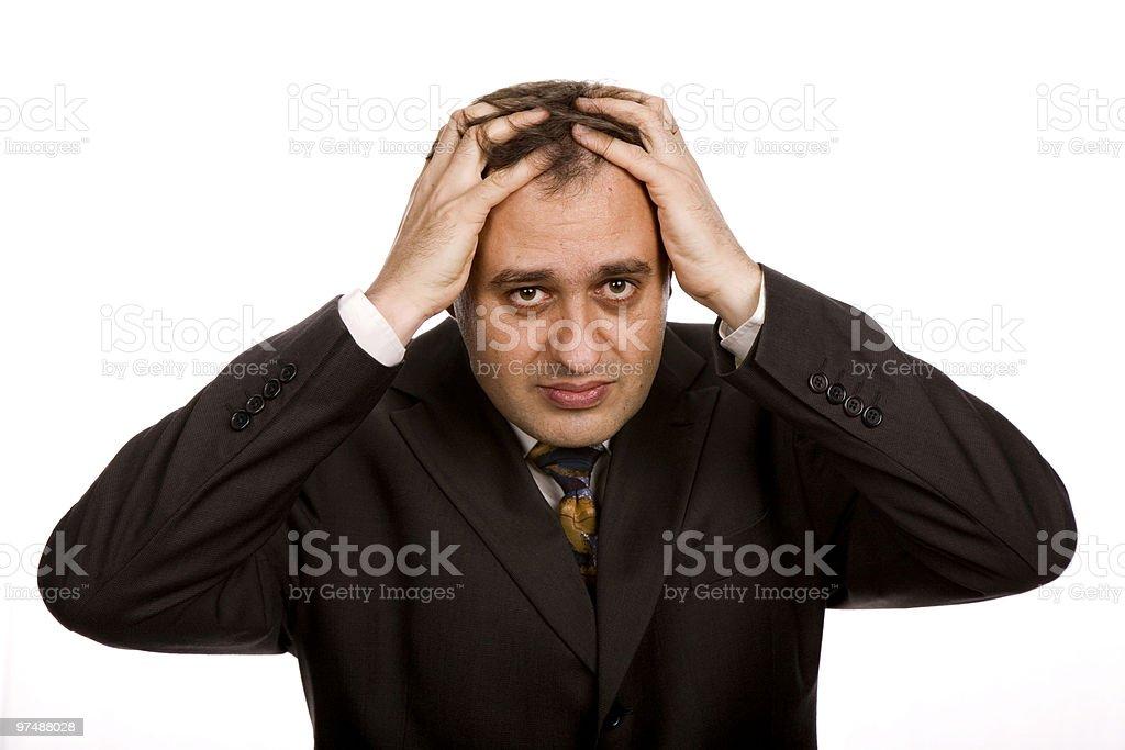 headache royalty-free stock photo