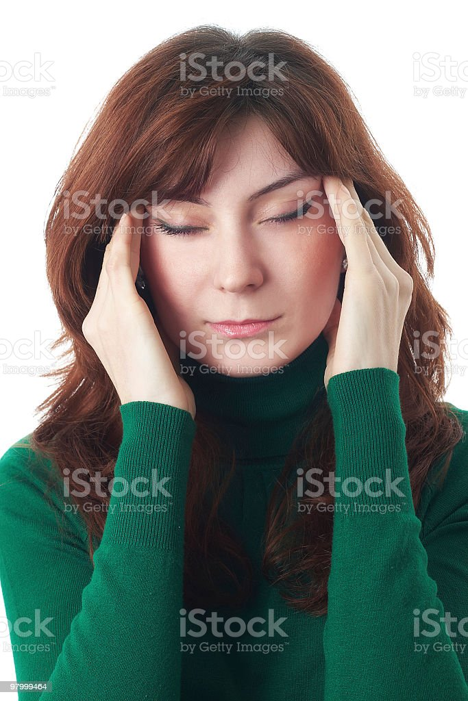 headache royalty free stockfoto