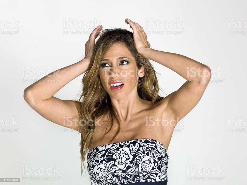 Headaches royalty-free stock photo
