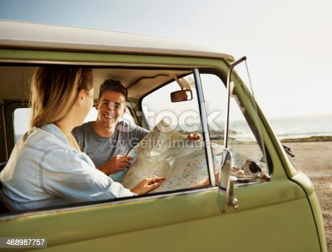 istock Heading off into the unknown together! 468987757