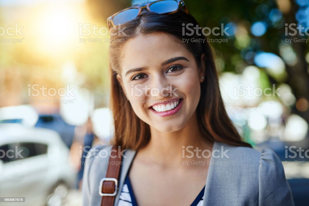 Heading off to work royalty-free stock photo
