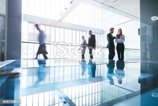 istock Heading to another successful business day 658259872
