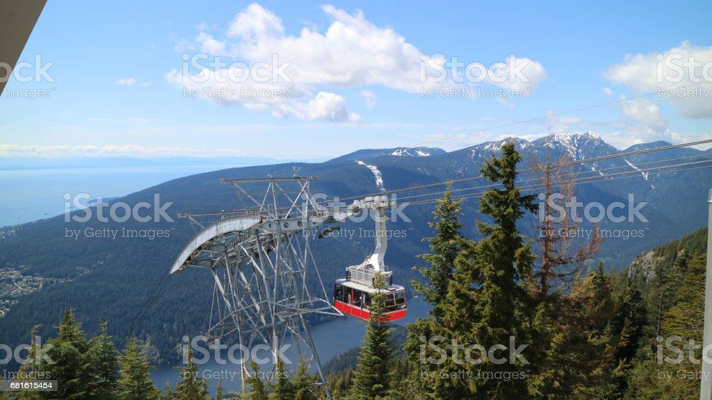 Unterwegs auf dem Grouse Mountain Skyride – Foto