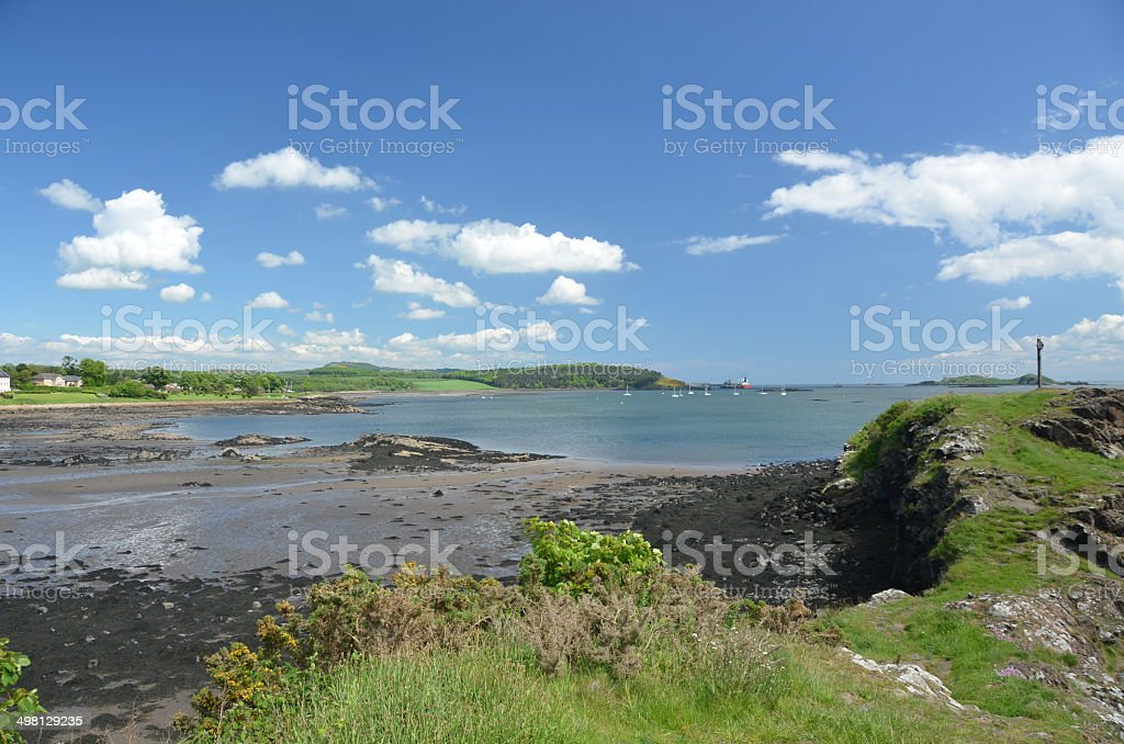 Headland and Bay royalty-free stock photo