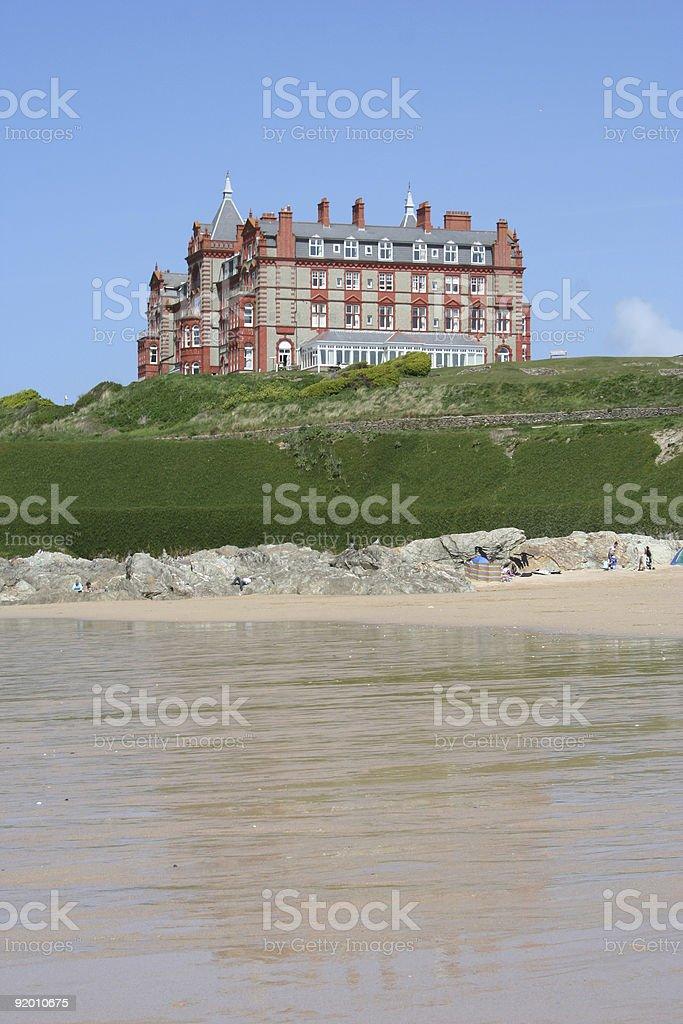 headland hotel royalty-free stock photo