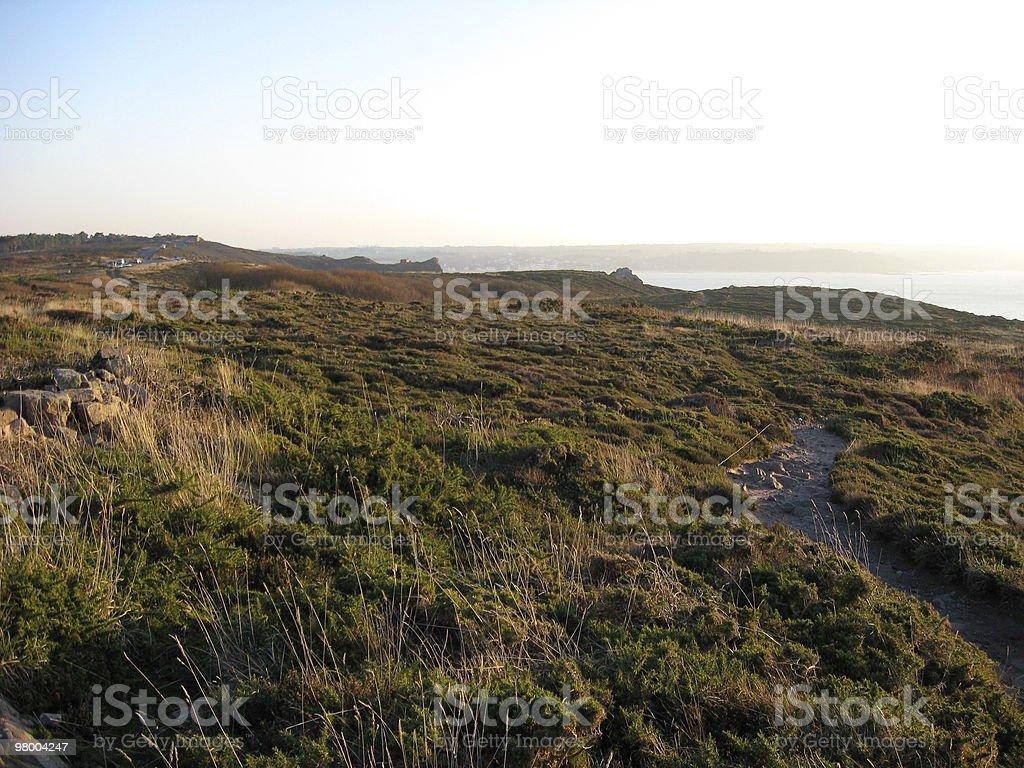 Headland of Erquy royalty free stockfoto