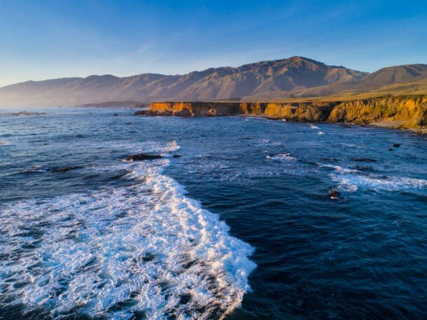 VorLandzunge und Ozeane entlang der Big Sur Coast of California. – Foto