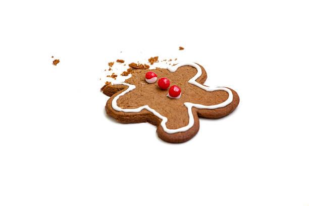 headless hombre de jengibre - gingerbread man fotografías e imágenes de stock