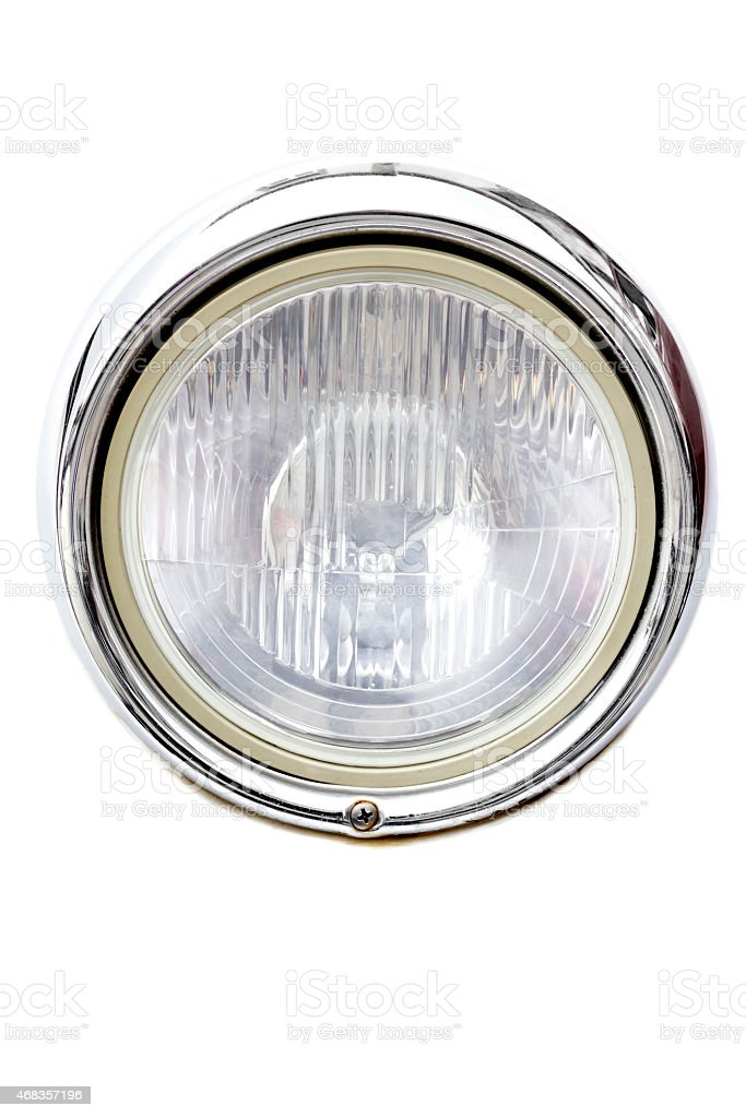 Headlight car royalty-free stock photo