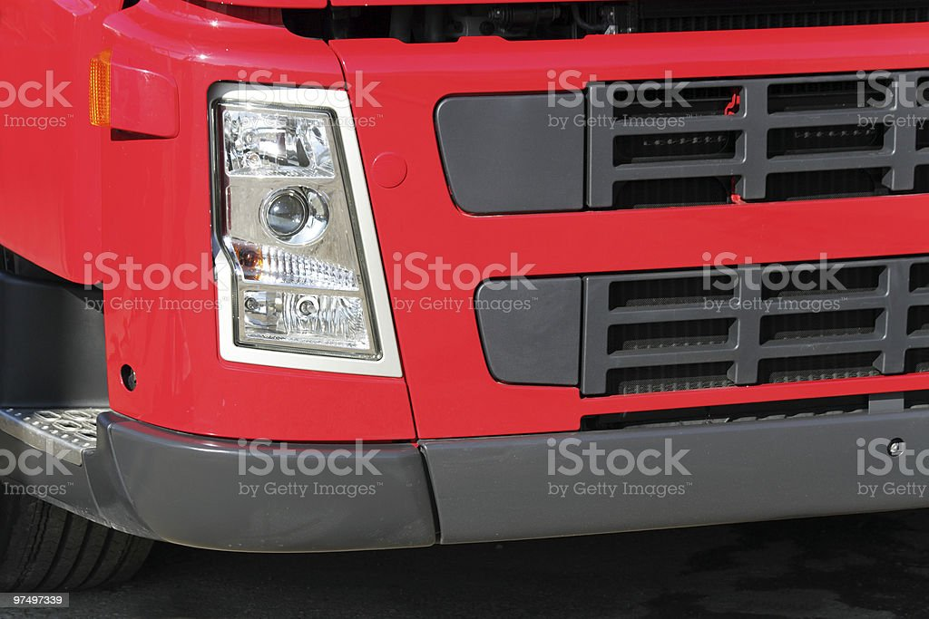Headlight of the car royalty-free stock photo