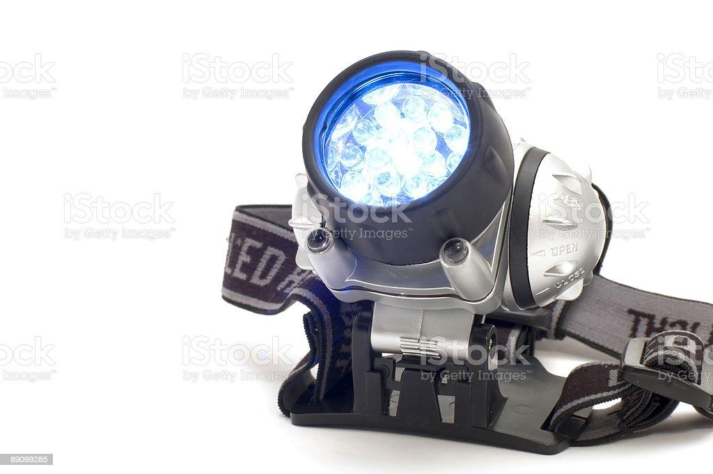 headlight on royalty-free stock photo
