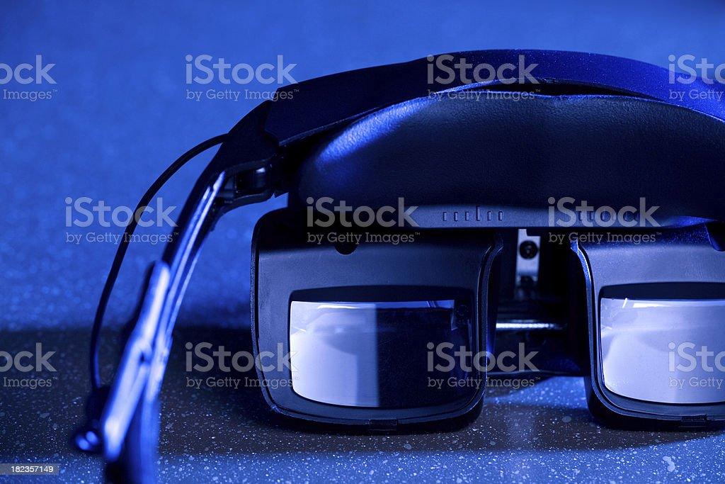Head-Mounted Display royalty-free stock photo