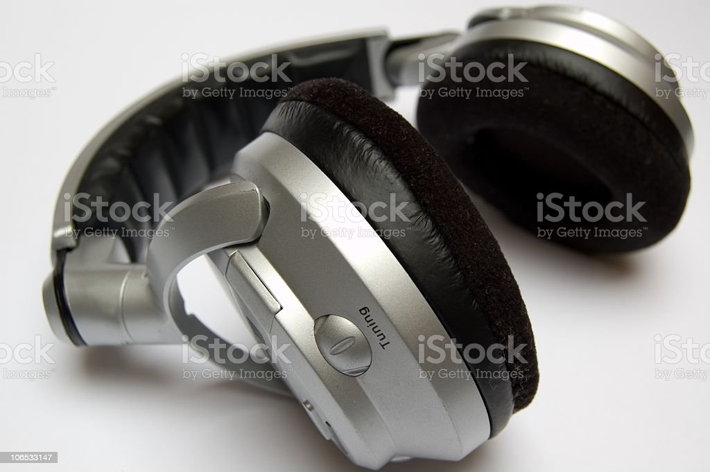 headphone royalty-free stock photo