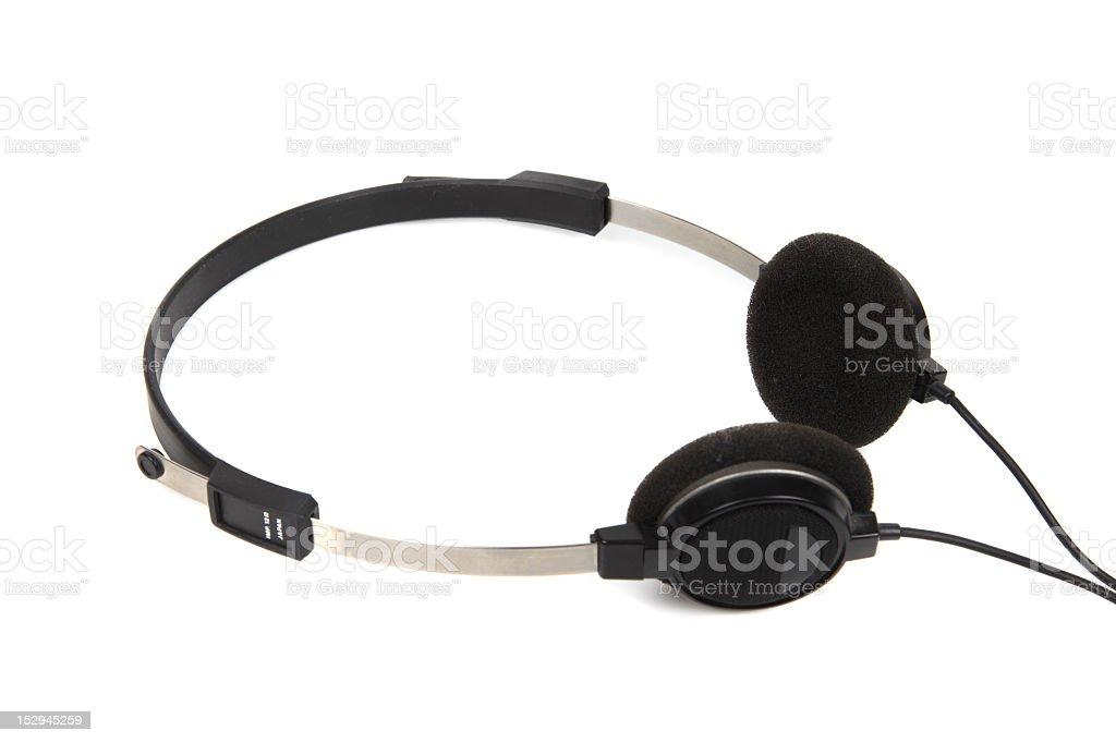 Headphones for Amateur Radio stock photo