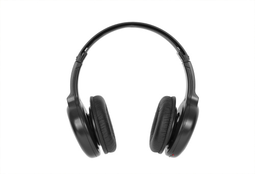 Headphones isolated on white.Please also see: