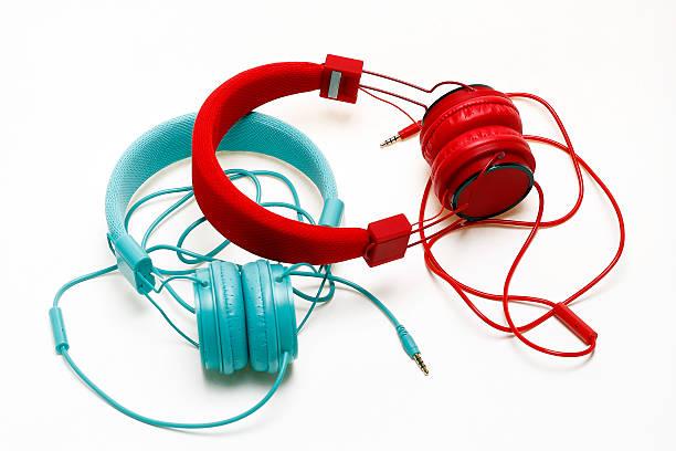 auriculares - mp4 fotografías e imágenes de stock