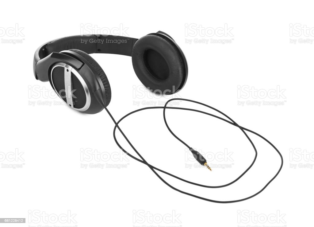 Headphones stock photo