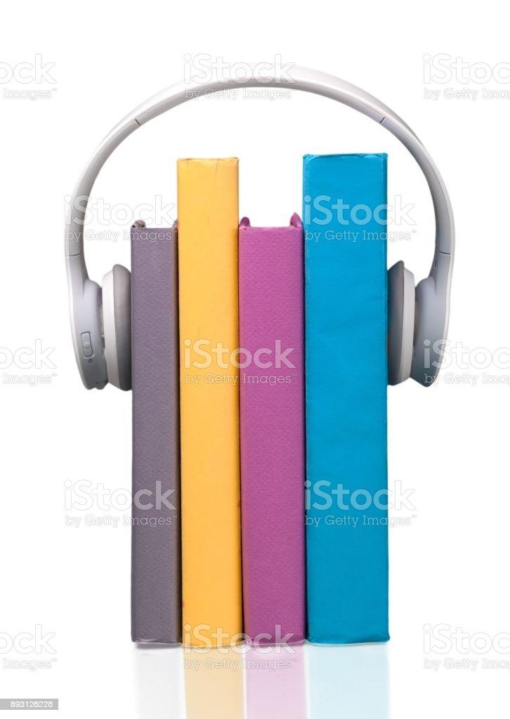 Headphones. stock photo