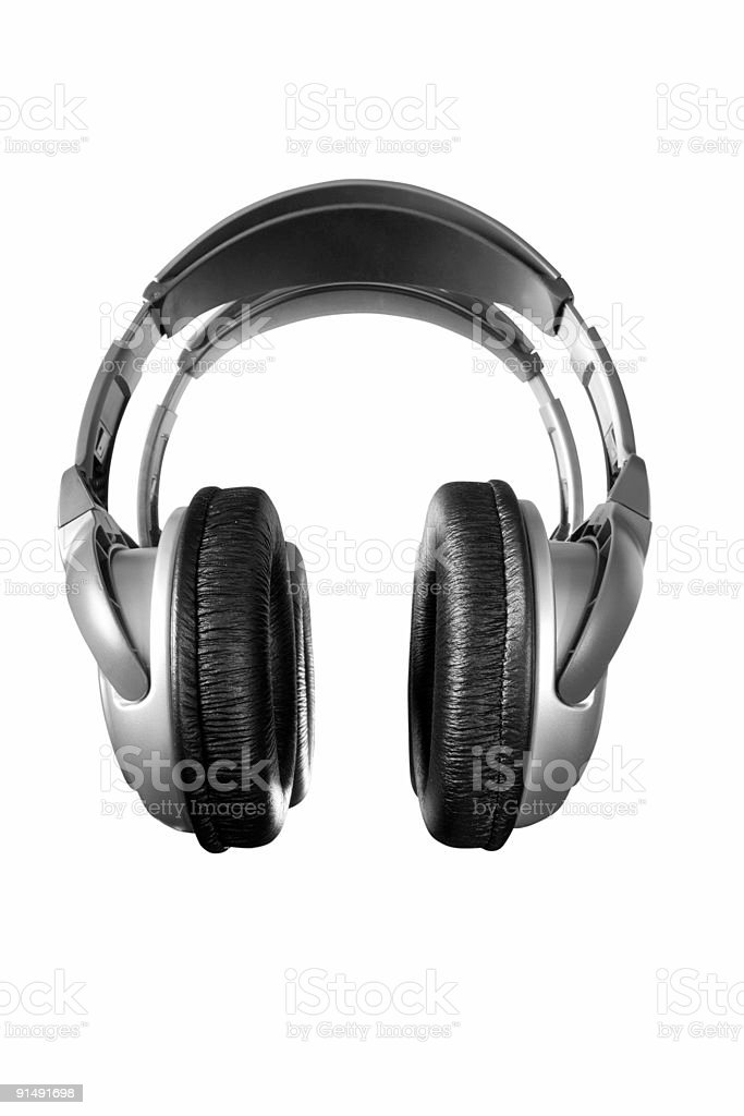 headphones royalty-free stock photo
