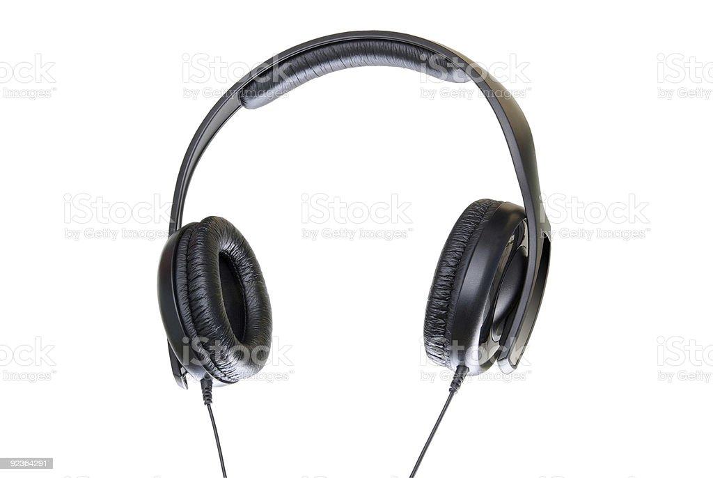 Kopfhörer. Lizenzfreies stock-foto