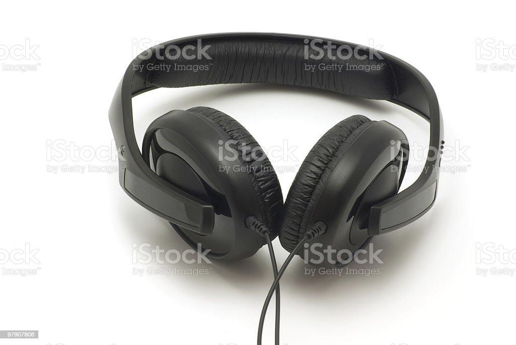 Headphones royalty-free stock photo