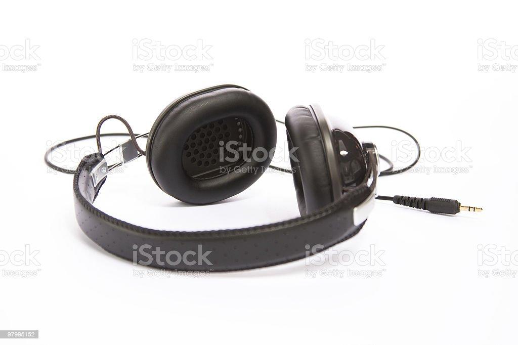 Headphones royalty free stockfoto