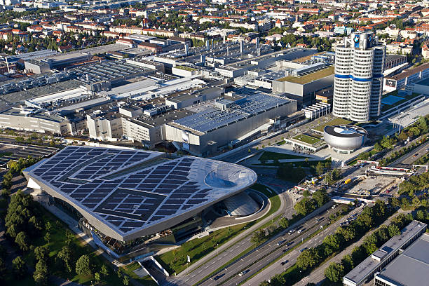 BMW headquarter in Munich stock photo