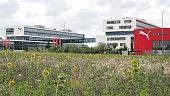 Herzogenaurach: Headquarter of global sports brand Puma in the village of Herzogenaurach