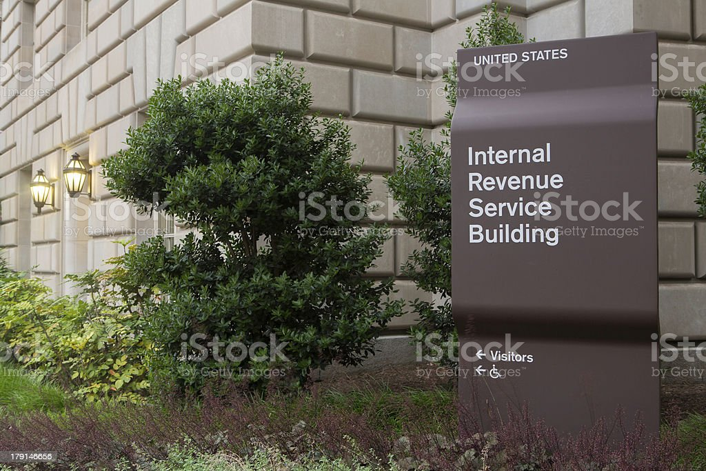 IRS Headquarters Building stock photo