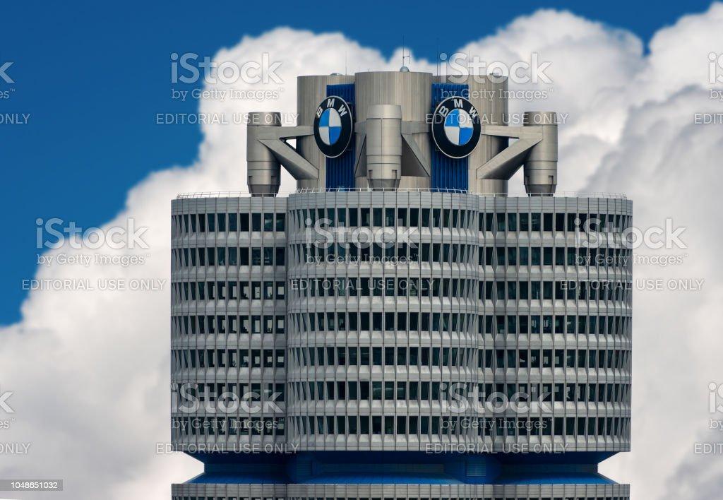 BMW Headquarters in Munich - Bavaria Germany stock photo