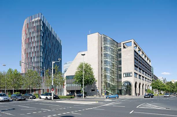 Hauptsitz KfW Bankgroup, Kreditanstalt fuer Wiederaufbau, Frankfurt/Main, Deutschland – Foto