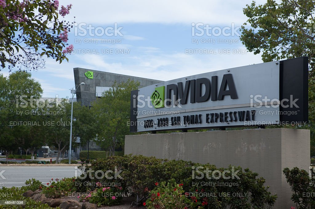 NVIDIA Headquarters stock photo
