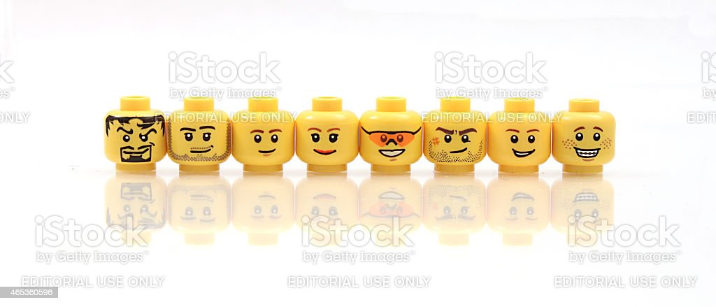 Heads Up stock photo