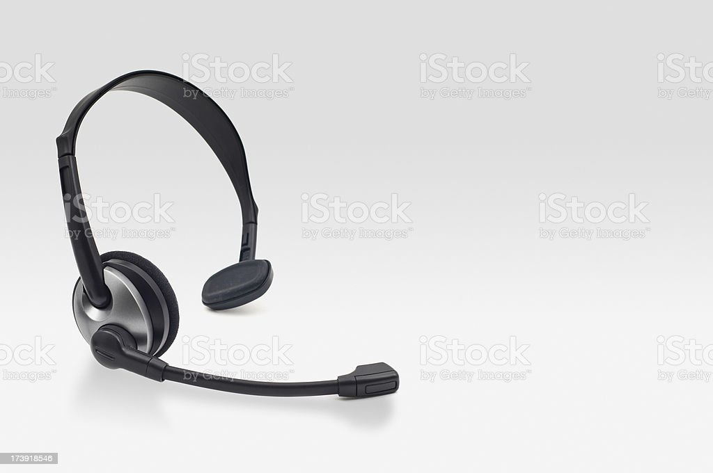 Headset royalty-free stock photo